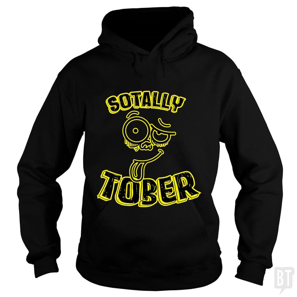 SunFrog-Busted LillJenn Hoodie / Black / S Totally Sober