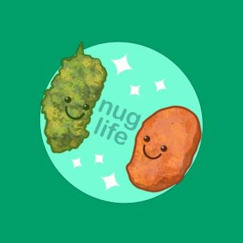 SunFrog-Busted LVB Art Nug Life