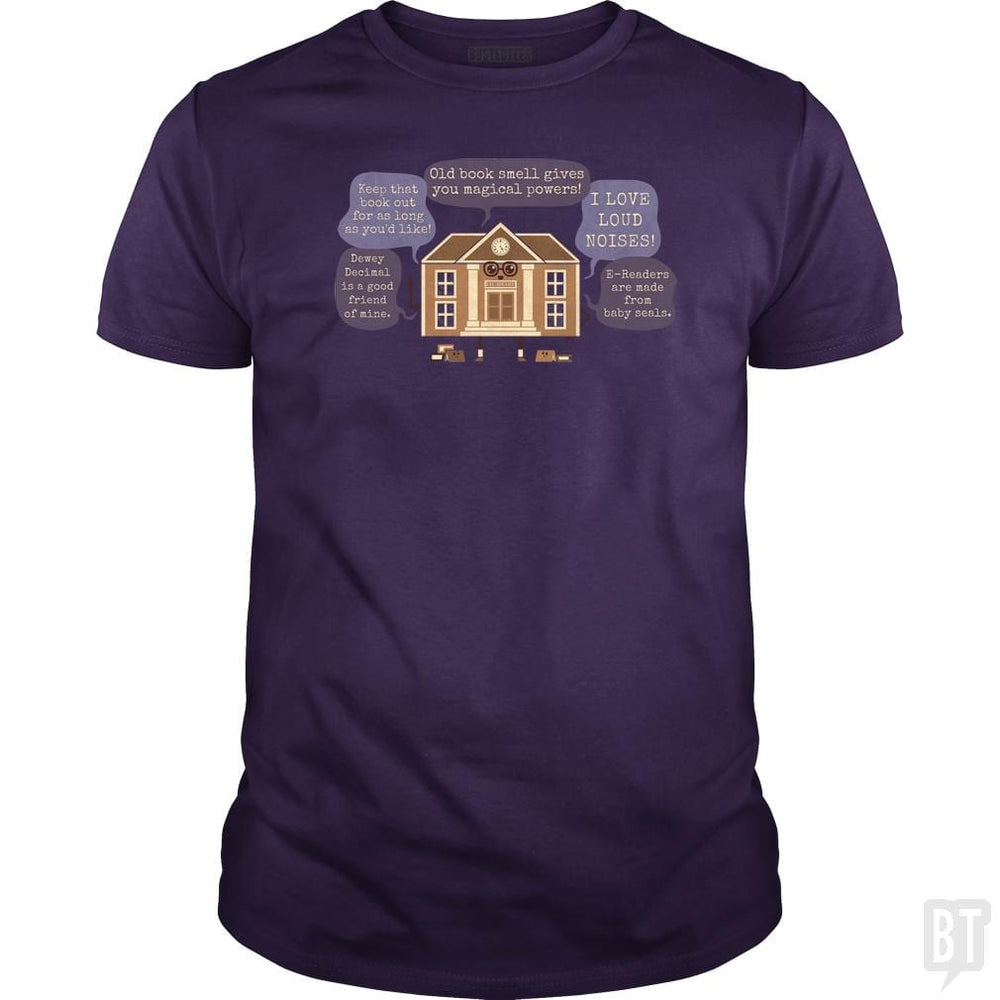 SunFrog-Busted Made With Awesome Classic Guys / Unisex Tee / Purple / S Lie-brary
