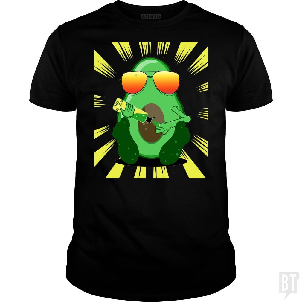 SunFrog-Busted mailboxdisco Classic Guys / Unisex Tee / Black / S Avocado Oil