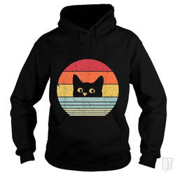SunFrog-Busted Mr Candy Hoodie / Black / S Cat Shirt Retro Style