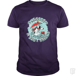 SunFrog-Busted MudgeWare Classic Guys / Unisex Tee / Purple / S Rescue A Best Friend