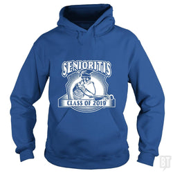 SunFrog-Busted MudgeWare Hoodie / Royal Blue / S Senioritis Class of 2019
