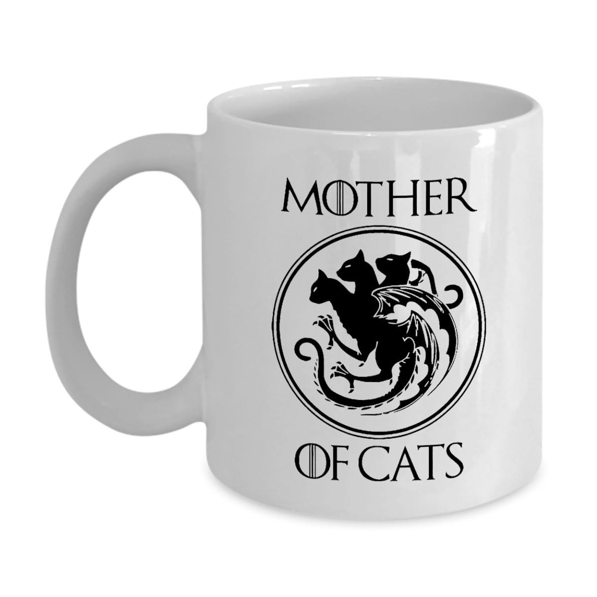 SunFrog-Busted MUG 11oz Mug / White Mother Of Cat Mug