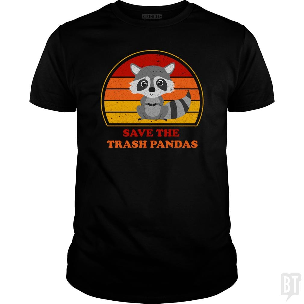 SunFrog-Busted n23 Classic Guys / Unisex Tee / Black / S Save The Trash Pandas