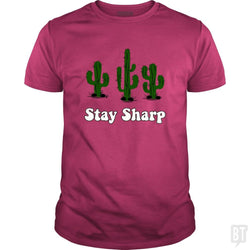 SunFrog-Busted n23 Classic Guys / Unisex Tee / Heliconia / S Stay Sharp