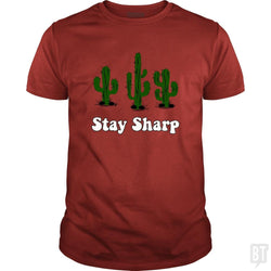 SunFrog-Busted n23 Classic Guys / Unisex Tee / Red / S Stay Sharp