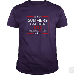 SunFrog-Busted n23 Classic Guys / Unisex Tee / Purple / S Summers Rosenberg 2020
