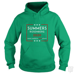 SunFrog-Busted n23 Hoodie / Irish Green / S Summers Rosenberg 2020