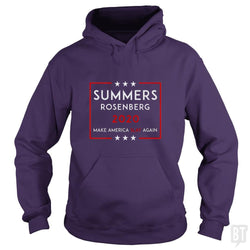 SunFrog-Busted n23 Hoodie / Purple / S Summers Rosenberg 2020