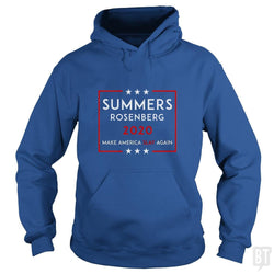 SunFrog-Busted n23 Hoodie / Royal Blue / S Summers Rosenberg 2020