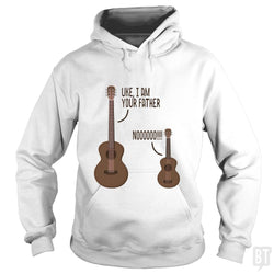 SunFrog-Busted n23 Hoodie / White / S Uke, I am Your Father