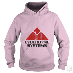 SunFrog-Busted Patwork Hoodie / Light Pink / S CYBERDINE SYSTEMS