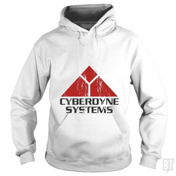 SunFrog-Busted Patwork Hoodie / White / S CYBERDINE SYSTEMS
