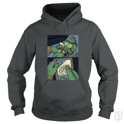 SunFrog-Busted PennyTees Hoodie / Dark Heather / S Longing For Pizza