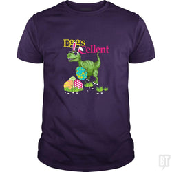 SunFrog-Busted Platinumshop Classic Guys / Unisex Tee / Purple / S Easter Bunny Dinosaur T-shirt T-rex Boys Kids Eggs