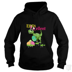 SunFrog-Busted Platinumshop Hoodie / Black / S Easter Bunny Dinosaur T-shirt T-rex Boys Kids Eggs