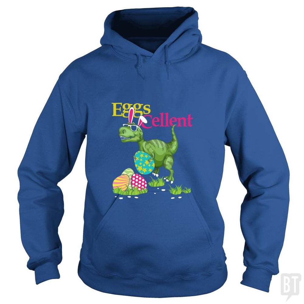 SunFrog-Busted Platinumshop Hoodie / Royal Blue / S Easter Bunny Dinosaur T-shirt T-rex Boys Kids Eggs