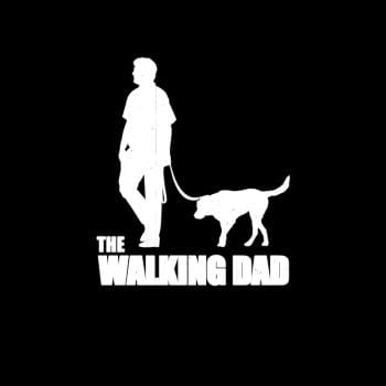 SunFrog-Busted Platinumshop The Walking Dad funny dog T-shirt