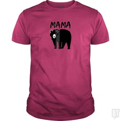 SunFrog-Busted Platinumshop Classic Guys / Unisex Tee / Heliconia / S Womens Mama Black Bear Mother's Day T Shirt
