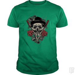 SunFrog-Busted spoilerinc Classic Guys / Unisex Tee / Irish Green / S disobey