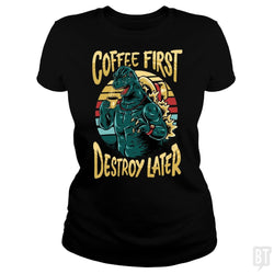 SunFrog-Busted spoilerinc Classic Ladies Tee / Black / S the great cozylaa