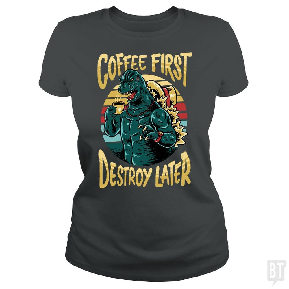 SunFrog-Busted spoilerinc Classic Ladies Tee / Dark Heather / S the great cozylaa