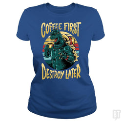 SunFrog-Busted spoilerinc Classic Ladies Tee / Royal Blue / S the great cozylaa