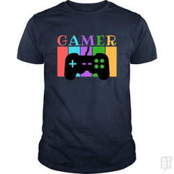 SunFrog-Busted WD650 Classic Guys / Unisex Tee / Navy Blue / S Gamer Funny Tshirt