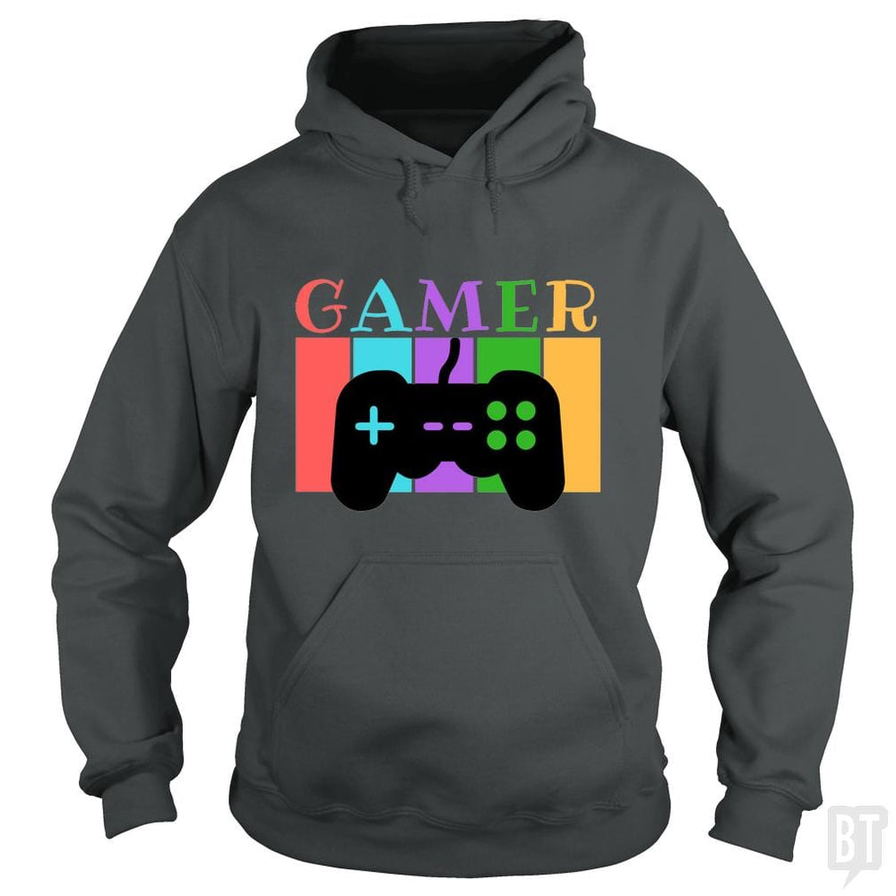 SunFrog-Busted WD650 Hoodie / Dark Heather / S Gamer Funny Tshirt
