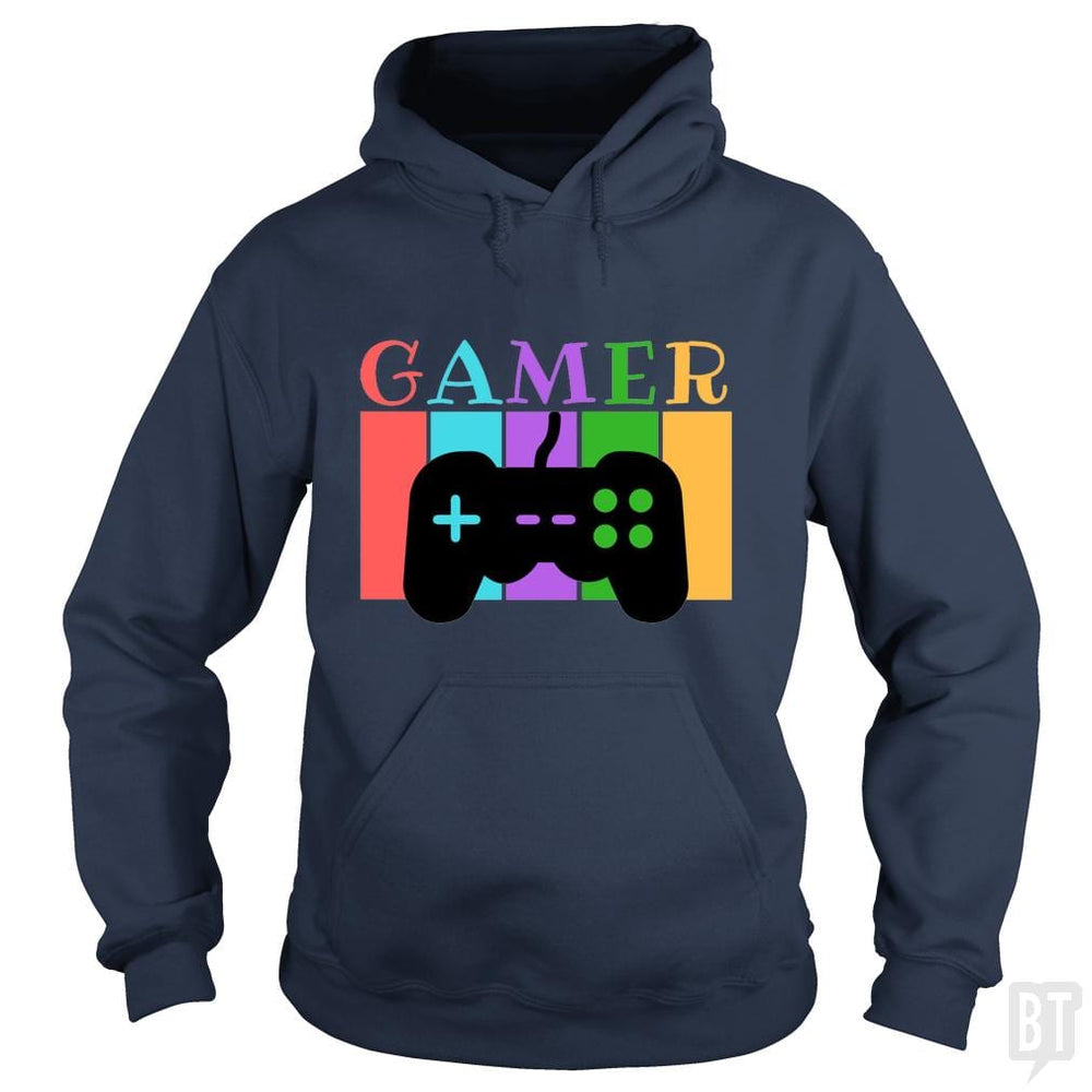 SunFrog-Busted WD650 Hoodie / Navy Blue / S Gamer Funny Tshirt