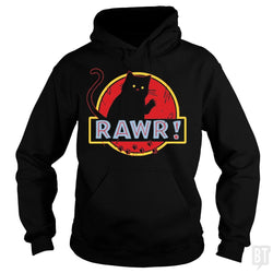 SunFrog-Busted yansdonal189 Hoodie / Black / S Jurassic Cat RAWR