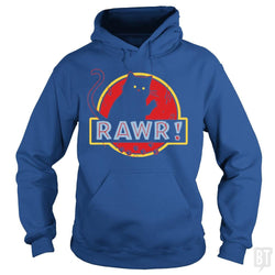 SunFrog-Busted yansdonal189 Hoodie / Royal Blue / S Jurassic Cat RAWR