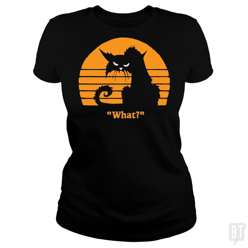 SunFrog-Busted yansdonal189 Classic Ladies Tee / Black / S What?!