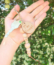 Load image into Gallery viewer, Organic Beechwood Keychain