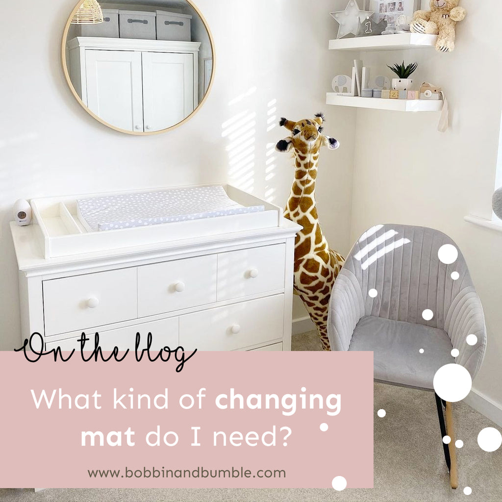 What kind of changing mat do I need?