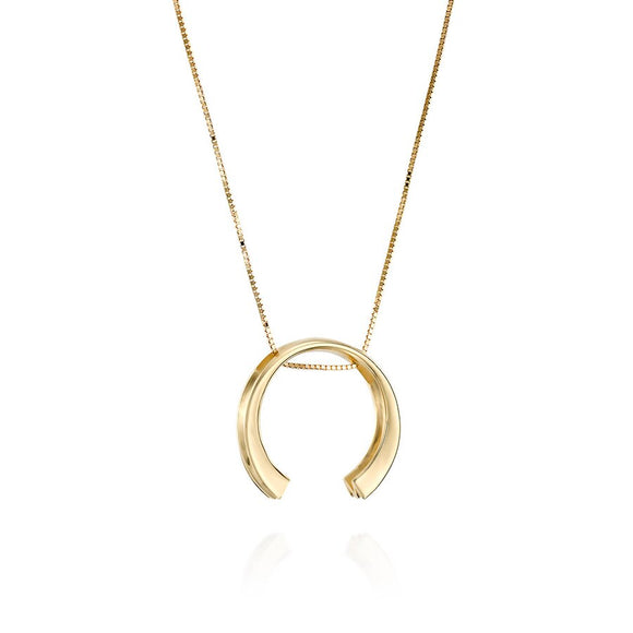 Simple elegant 14K Pendant C