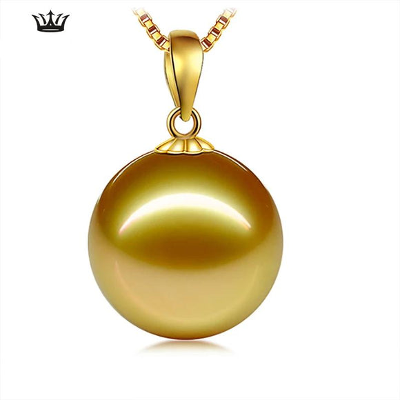 south Seawater Pearl Pendant Single 18K Gold Pendant