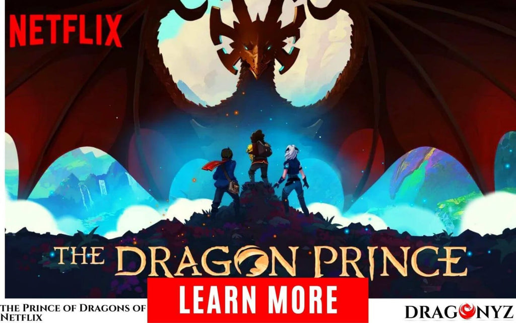 A trailer for the Prince of Dragons of Netflix