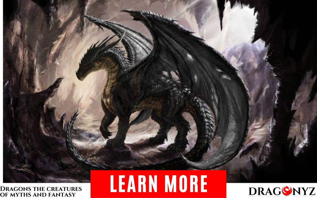 Dragons the famous creatures of myths and fantasy