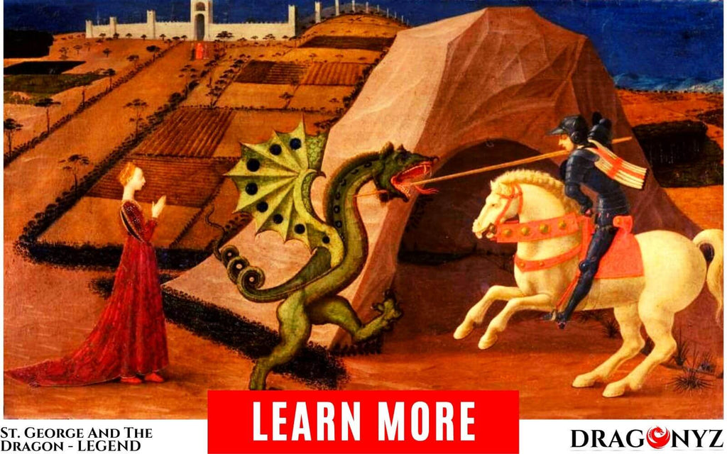 St. George And The Dragon - Building A Myth