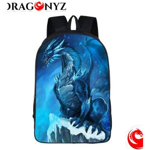 DRAGON BACKPACK - BLUE