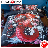 DRAGON BEDDING - CHINESE