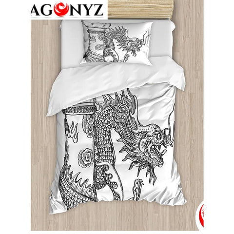 DRAGON BEDDING - SACRED CREATURE