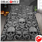 DRAGON BEDDING - SKULL AND DRAGON