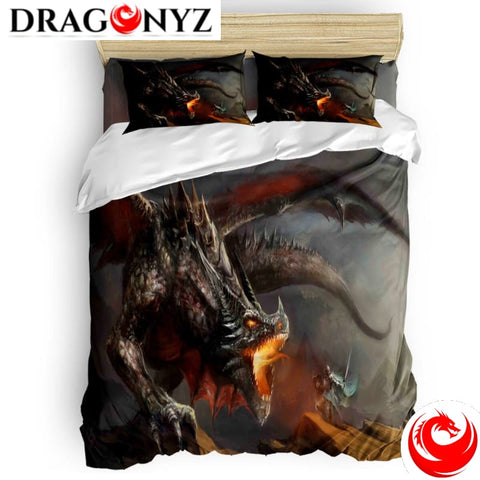 DRAGON BEDDING - SLAUGHTERING WARRIORS