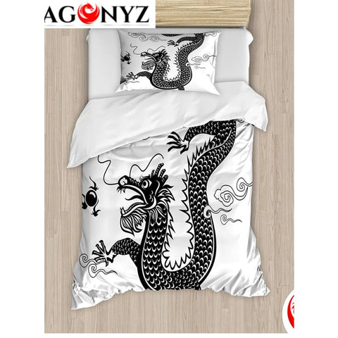 DRAGON BEDDING - TRADITIONAL CHINESE