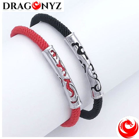 DRAGON BRACELET -DUO RED AND BLACK