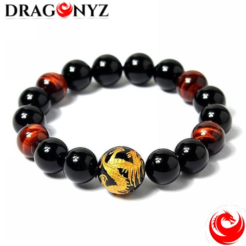 DRAGON BRACELET IN BEADS
