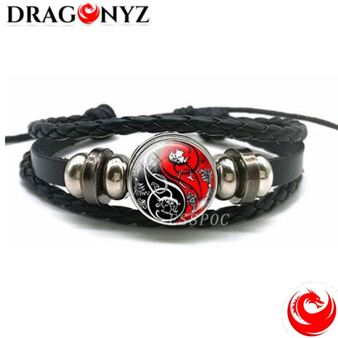 DRAGON BRACELET -MADE OF GLASS